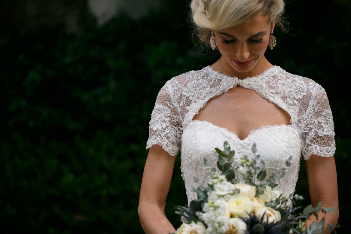 Real Brides In Their Special Wedding Dress