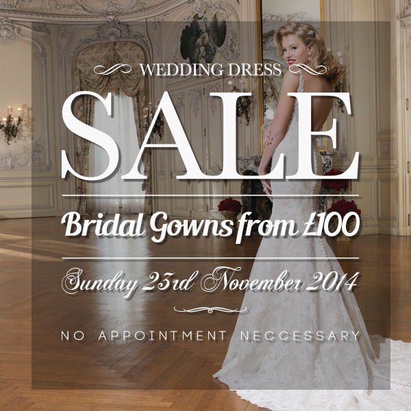 London Bride Couture Is Having A Mid Season Sample Sale This July