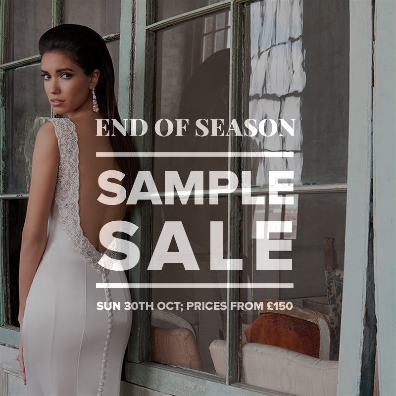 Designer wedding dress sample sale october 2016 designer for Wedding dresses london sale