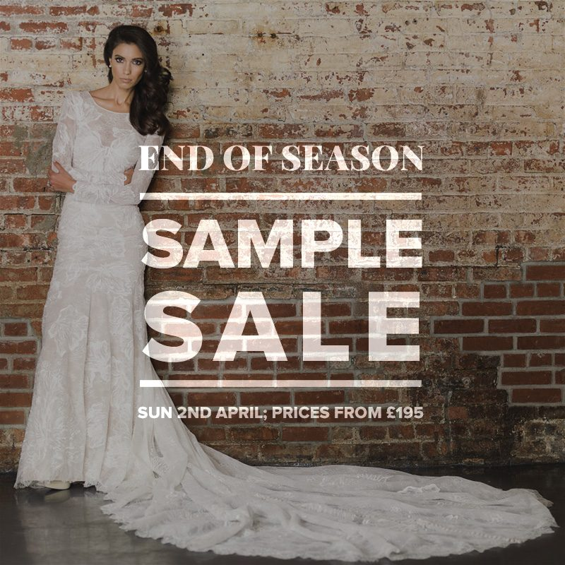 Wedding Dress Sample Sale 2017